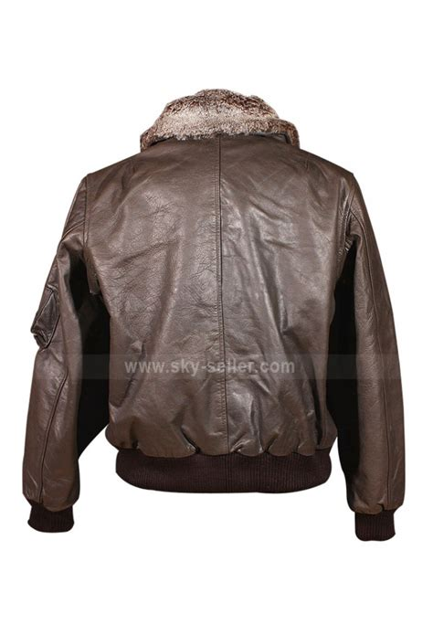 Vintage Leather Pilot Series pilot vintage a2 bomber leather brown jacket