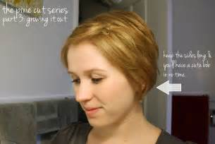 hairstyles while growing out a pixie how to grow out a pixie cut dark brown hairs