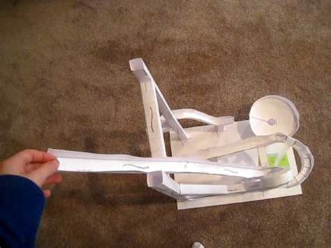 How To Make A Roller Coaster Out Of Paper - paper roller coaster 1