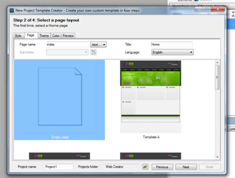 tutorial web creator pro 6 web creator free download