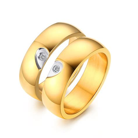 Wedding Rings Wholesale by Wholesale Steel Cz Wedding Ring