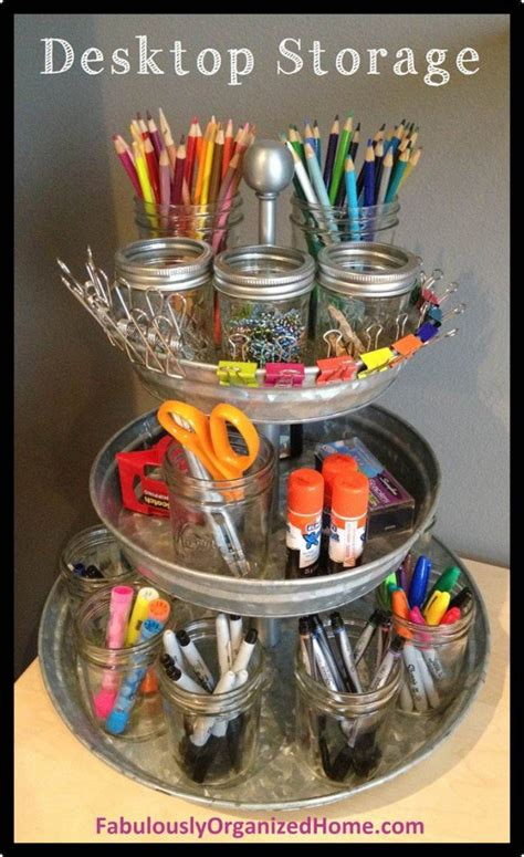 desk organization diy 14 creative practical diy desk organization storage ideas