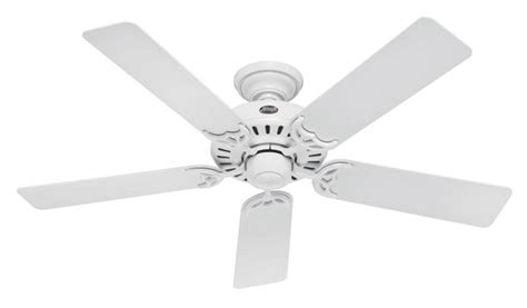 Ceiling Fan For Summer by 25517 Summer 52 Inch 5 Blade Ceiling Fan White With White Bleached Oak Blades