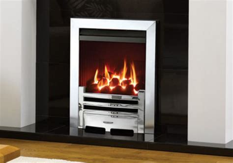 glass fronted high efficiency inset fires the fireplace