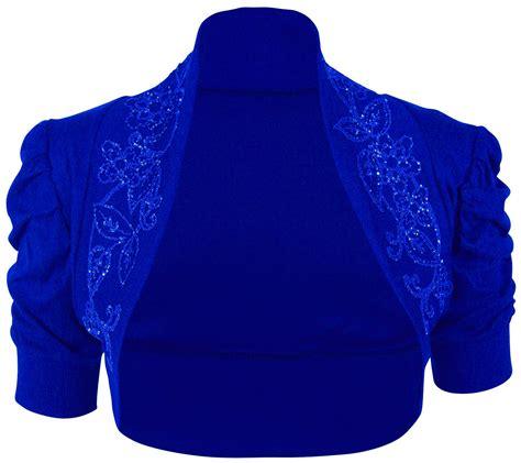 New Womens Plus Size Sequin Beaded Bolero Shrug Cardigan