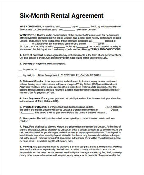 bailment agreement template rent agreement form best resumes