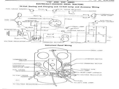 4020 12 volt alternator wiring diagram wiring forums