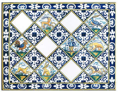 Backsplash Tile For White Kitchen - painted delft tiles hunting by bettina elsner