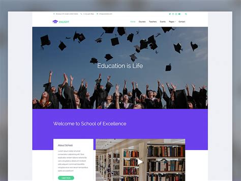 bootstrap templates for education free download enlight free education responsive bootstrap website