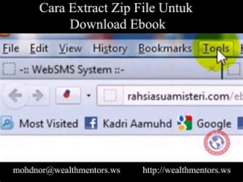 ebook format zip cara extract zip file untuk download ebook youtube