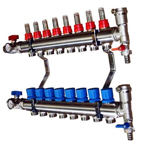 Manifold Plumbing by 11 Port Manifold Underfloor Heating Trade Supplies