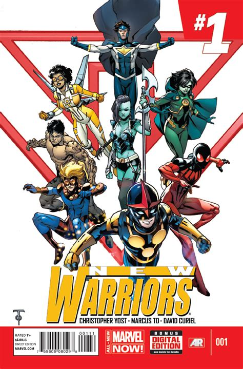 warriors jacob s volume 1 books new warriors vol 5 1 marvel comics database