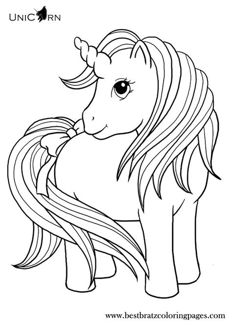 Unicorn Coloring Pages For Kids Coloring Home Printable Unicorn Coloring Pages