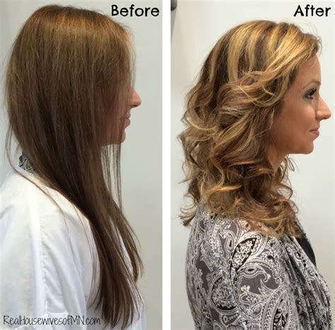 before and after hair color pictures hair makeover from camille albane salon real