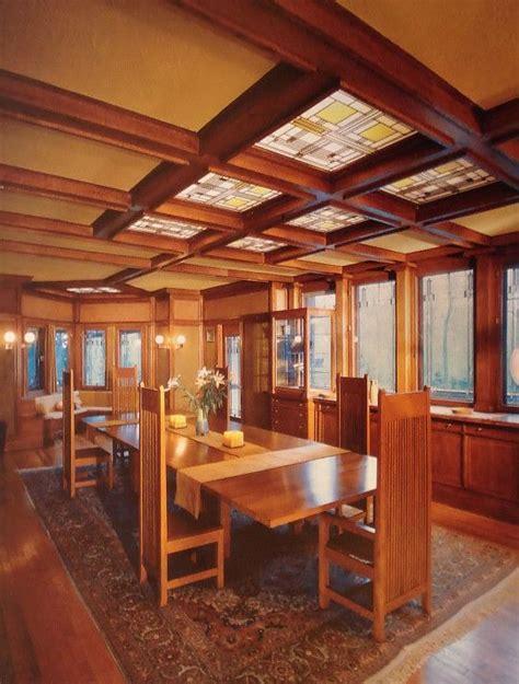frank lloyd wright interiors frank lloyd wright 1867 1959 dining room ward w
