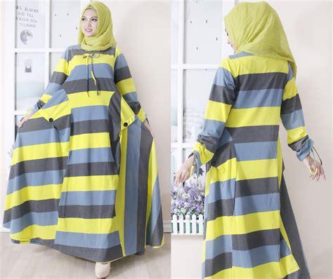 Dress Kaos Salur Jumbo Bigsize gamis bcl big salur baju style ootd