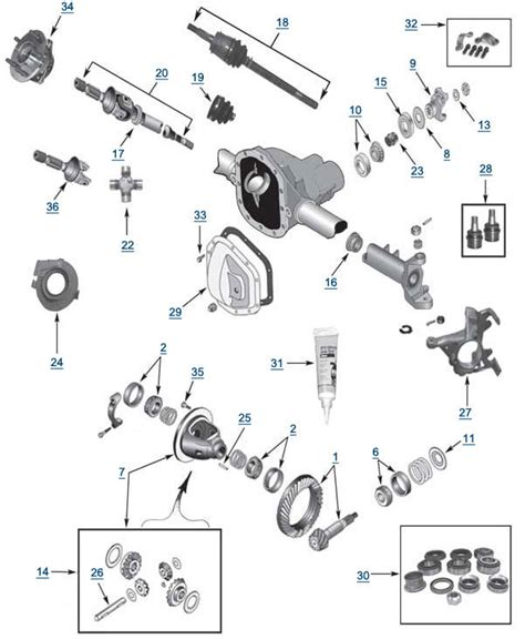 amc 20 axle diagram jeep 35 rear axle diagram jeep yj 35 elsavadorla