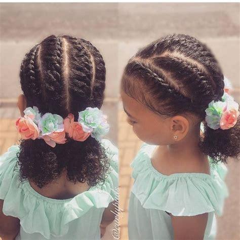 school hairstyles    natural girl
