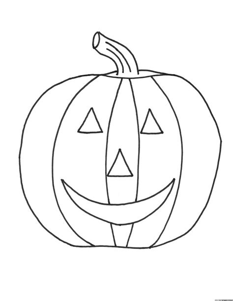 Free Printable Pumpkin Coloring Pages For Kids Pumpkin Coloring Pages