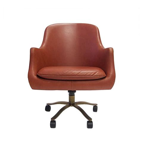 red leather desk chair nico zographos red leather english office desk chair with