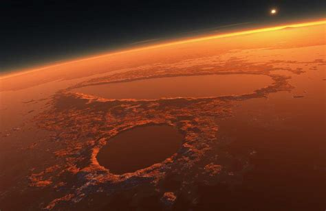 meteo web astronomia su marte un quot network quot di fiumi fossili meteo web