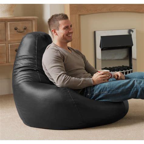 recliner bean bag buy gaming bean bag chair in faux leather beanbag bazaar