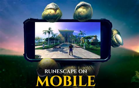 runescape on android runescape mobile client is coming to android and ios in 2018