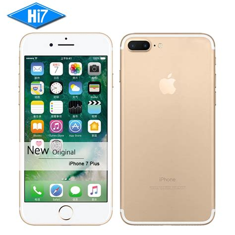 new original apple iphone 7 plus mobile phone 3gb ram 32gb rom fingerprint ios 10 lte
