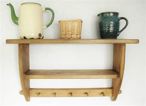 vintage country kitchen shelf by seagirl and magpie