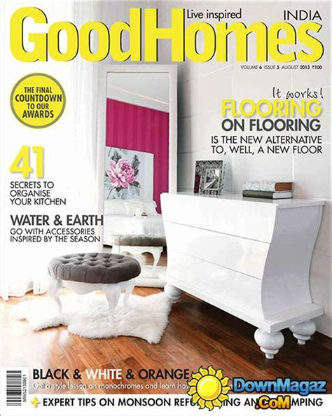 good home design magazines goodhomes india august 2013 187 download pdf magazines
