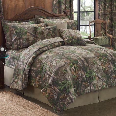 realtree xtra green comforter ez bed sets cabin place