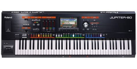 Keyboard Roland Jupiter 80 roland jupiter 80 keyboard synthesizer and more synthesizers at cascio interstate