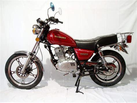 Suzuki Gn 125 Top Speed Suzuki Gn125