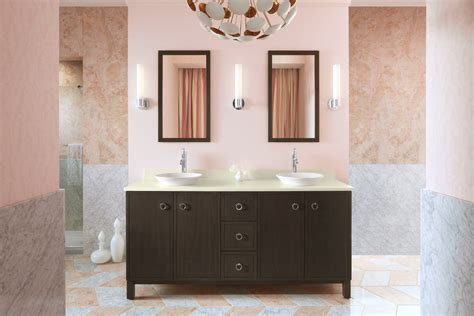 Lowes Bathroom Vanities Bathroom Contemporary With Chevron Custom Made Bathroom Vanities