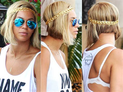 beyonce inverted bob beyonce hair photos beyonce short hair see beyonce s ombre bob from all sides style news