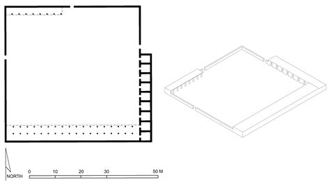 house perspective with floor plan hypothetical floor plan and perspective drawing of the prophet s house medina archnet