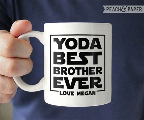 personalized brother gift for brother from sister best brother