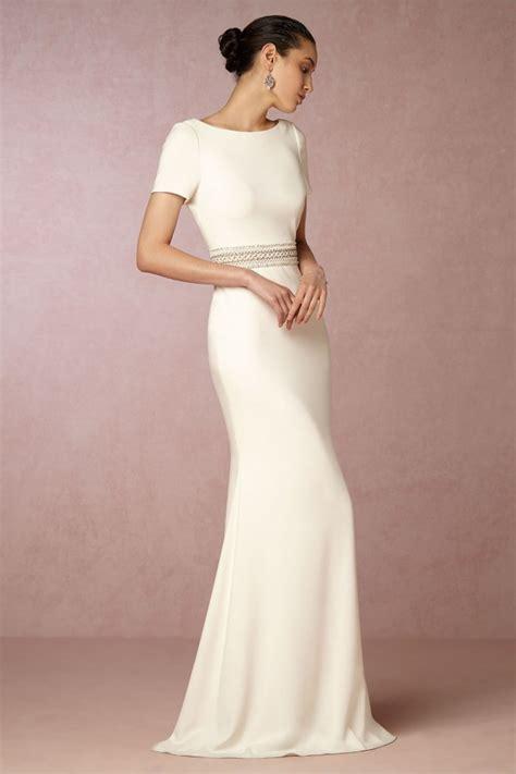 Schlichte Brautkleider by Schlichte Brautkleider Diese Modelle Sind Jetzt Trend