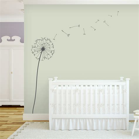 dandelion wall sticker dandelion wall decal dandelion wall sticker wallums