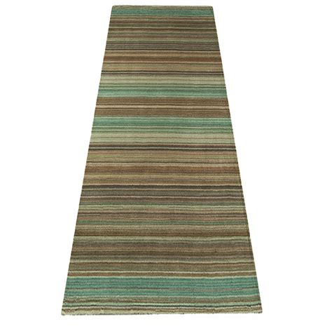 Wool Rugs Asiatic Pimlico Green Striped Rug 163 69 Striped Rugs