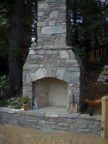 how to build a outdoor fireplace with chimney images
