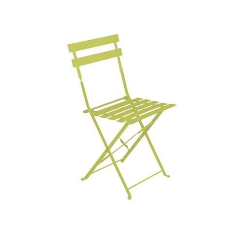 chaise pliante metal chaise de jardin m 233 tal pliante camargue verte achat