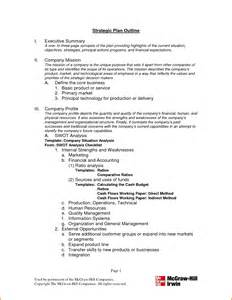 Plan Outline Format by 8 Strategic Plan Outlinememo Templates Word Memo Templates Word