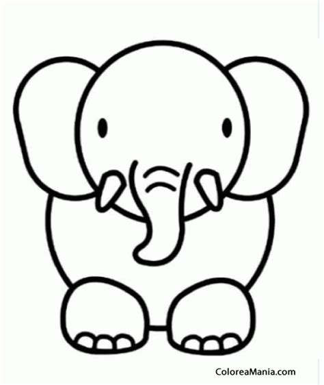 imagenes para colorear elefante elefante para colorear cool libro de colorear del