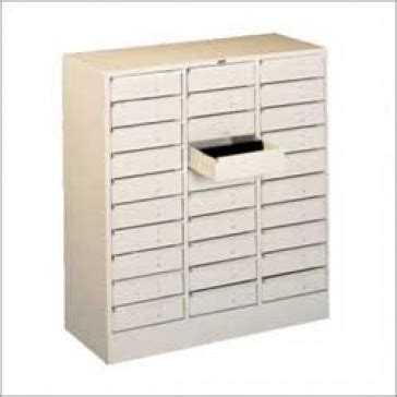 Metal Cabinets for Storing Hardware, Components, Fittings