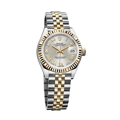 oyster perpetual datejust 28mm in yellow