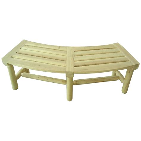fire bench cedar outdoor fire pit bench 195744 patio furniture at