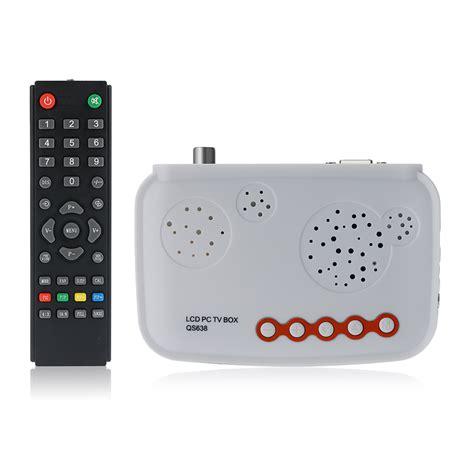 Tv Tuner Langsung Ke Monitor hdtv lcd tv box hd analog tv tuner box crt monitor