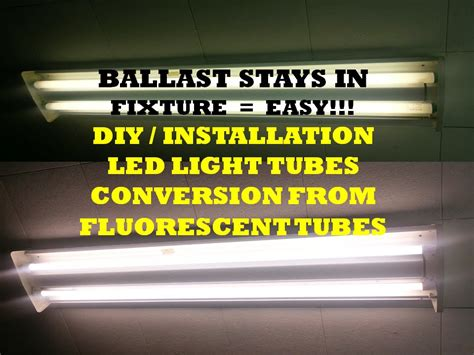 ft led tube retrofit  ballast bypass