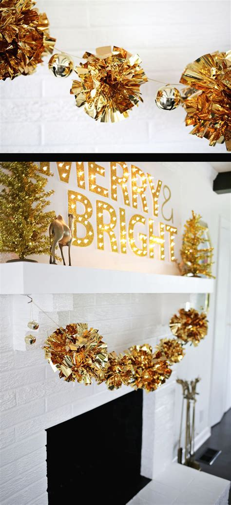 garland ideas 50 best diy christmas garland decorating ideas for 2018